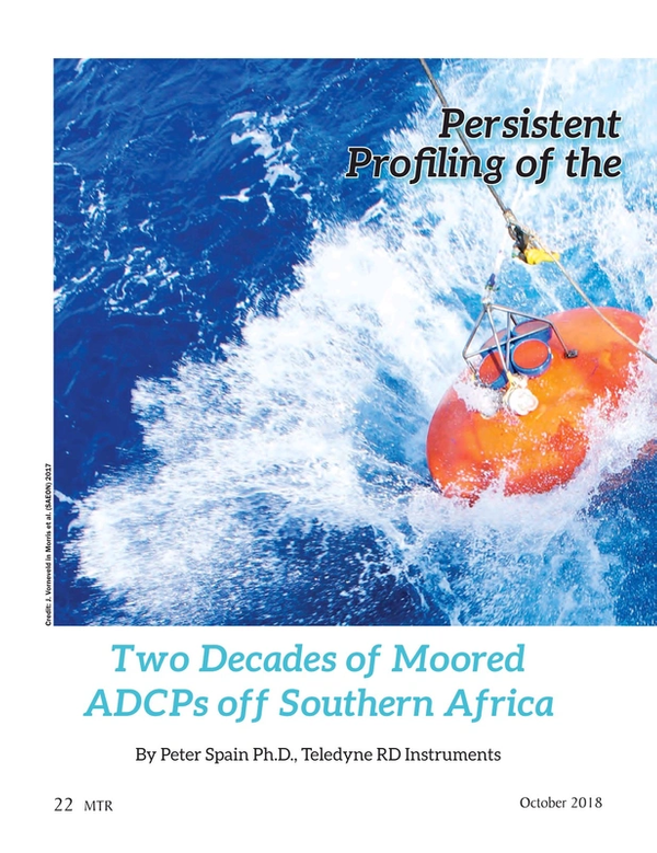 Marine Technology Magazine, page 22,  Oct 2018
