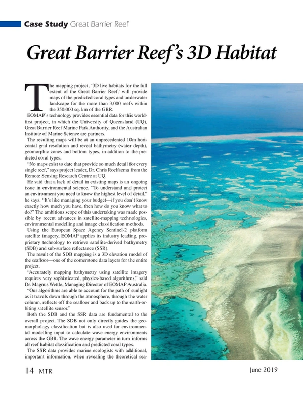 Marine Technology Magazine, page 14,  Jun 2019