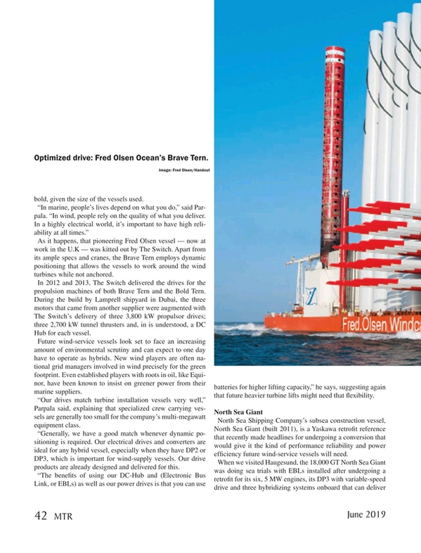 Marine Technology Magazine, page 42,  Jun 2019