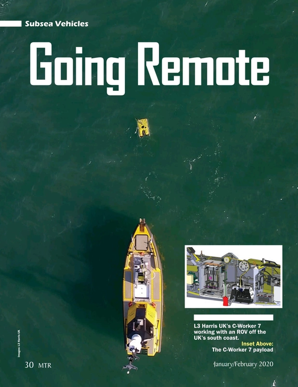 Marine Technology Magazine, page 30,  Jan 2020