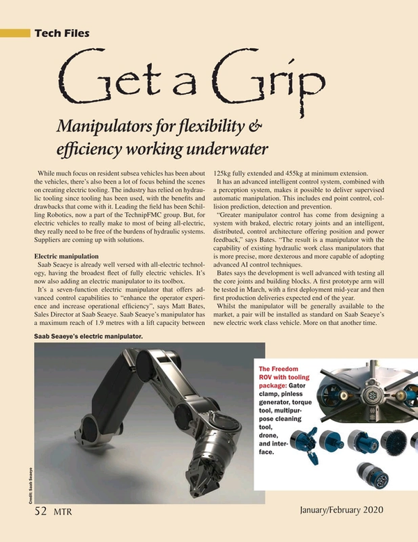 Marine Technology Magazine, page 52,  Jan 2020