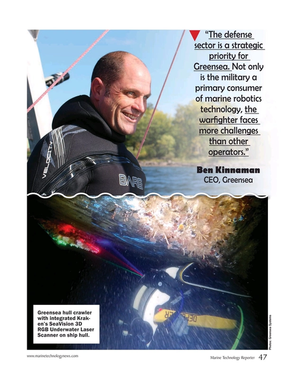 Marine Technology Magazine, page 47,  May 2020