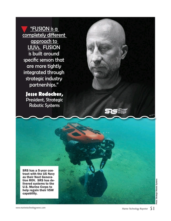 Marine Technology Magazine, page 51,  May 2020