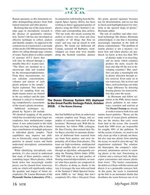 Marine Technology Magazine, page 16,  Jul 2020