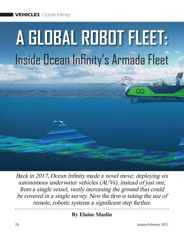 Marine Technology Magazine, page 26,  Jan 2021