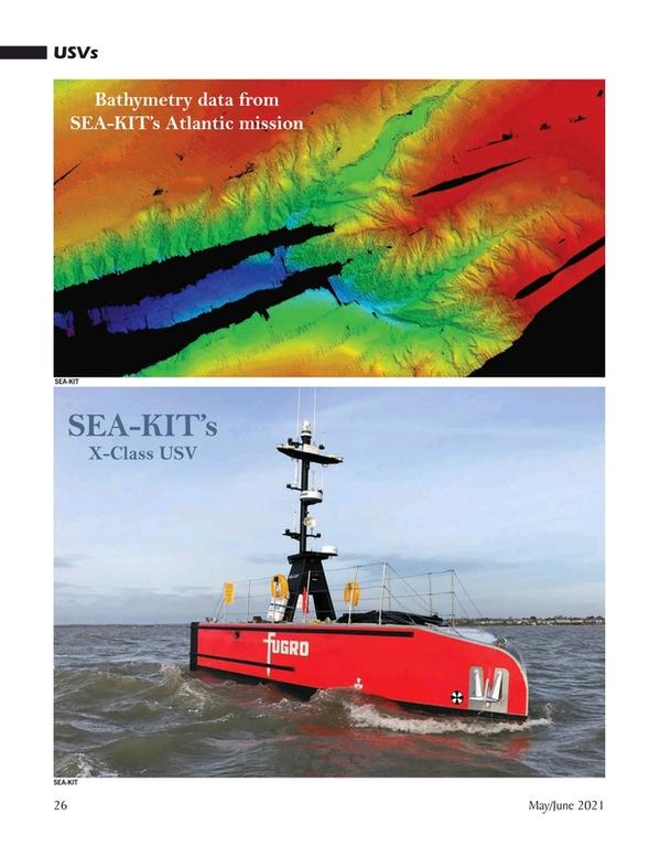 Marine Technology Magazine, page 26,  May 2021