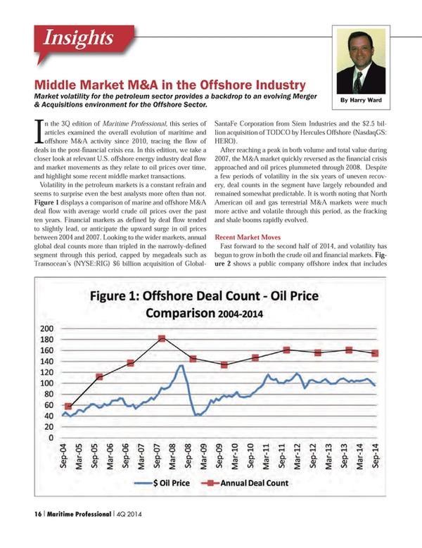 Maritime Logistics Professional Magazine, page 16,  Q4 2014