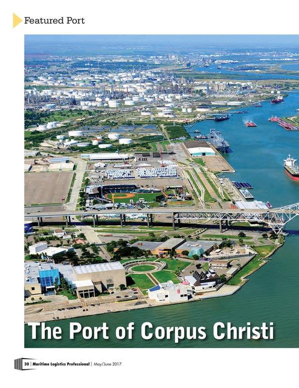Maritime Logistics Professional Magazine, page 30,  May/Jun 2017