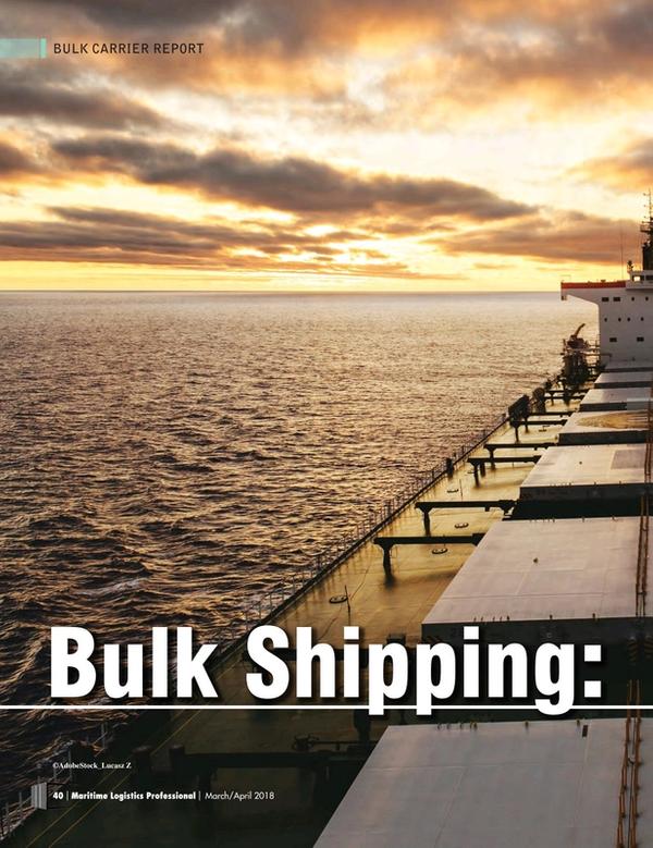 Maritime Logistics Professional Magazine, page 40,  Mar/Apr 2018