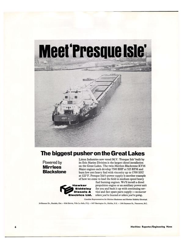 Maritime Reporter Magazine, page 4,  Jan 15, 1974