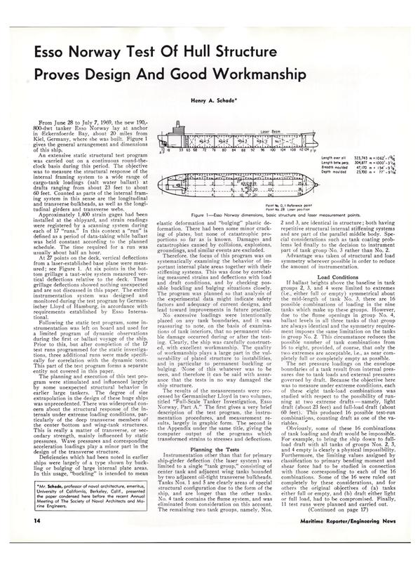 Maritime Reporter Magazine, page 11,  Feb 1974