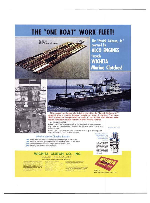 Maritime Reporter Magazine, page 12,  Feb 1974