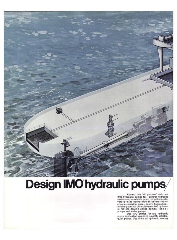 Maritime Reporter Magazine, page 15,  Feb 1974