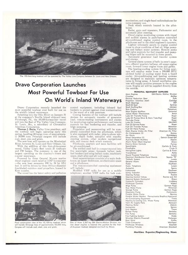Maritime Reporter Magazine, page 4,  Mar 1974 Pennsylvania