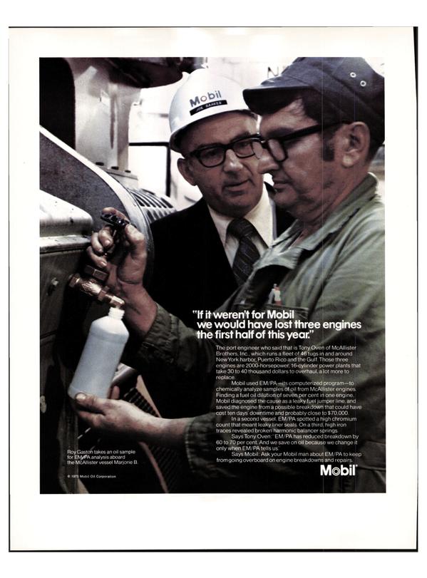 Maritime Reporter Magazine, page 20,  Apr 1976