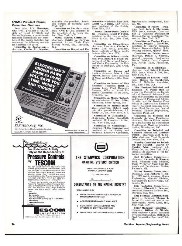 Maritime Reporter Magazine, page 24,  Apr 1976