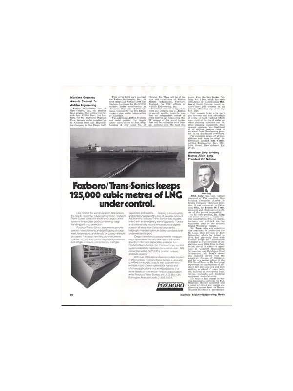 Maritime Reporter Magazine, page 8,  May 1977