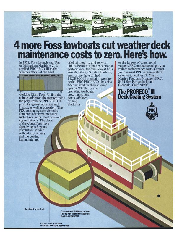 Maritime Reporter Magazine, page 31,  Aug 1977