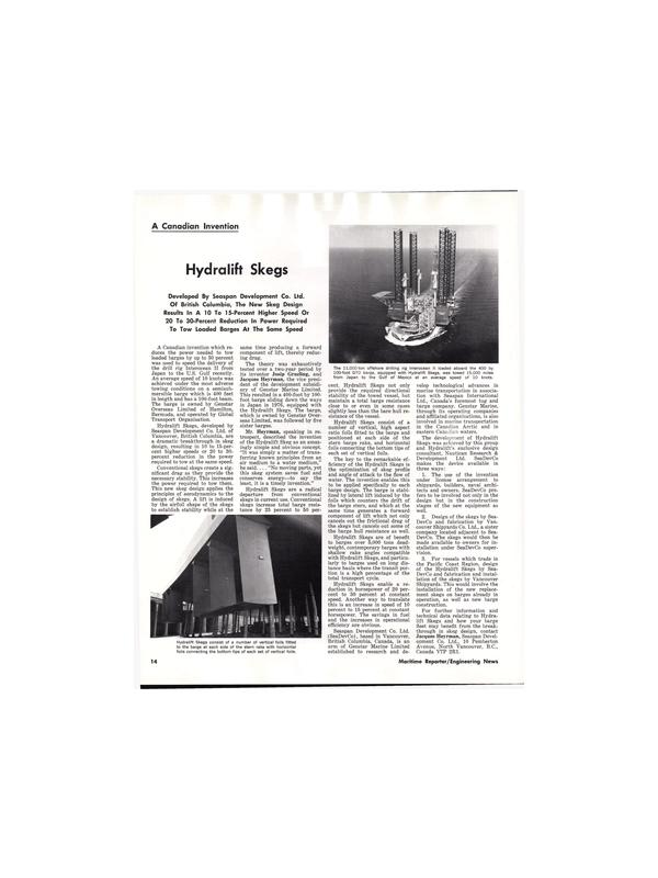 Maritime Reporter Magazine, page 14,  Aug 15, 1977