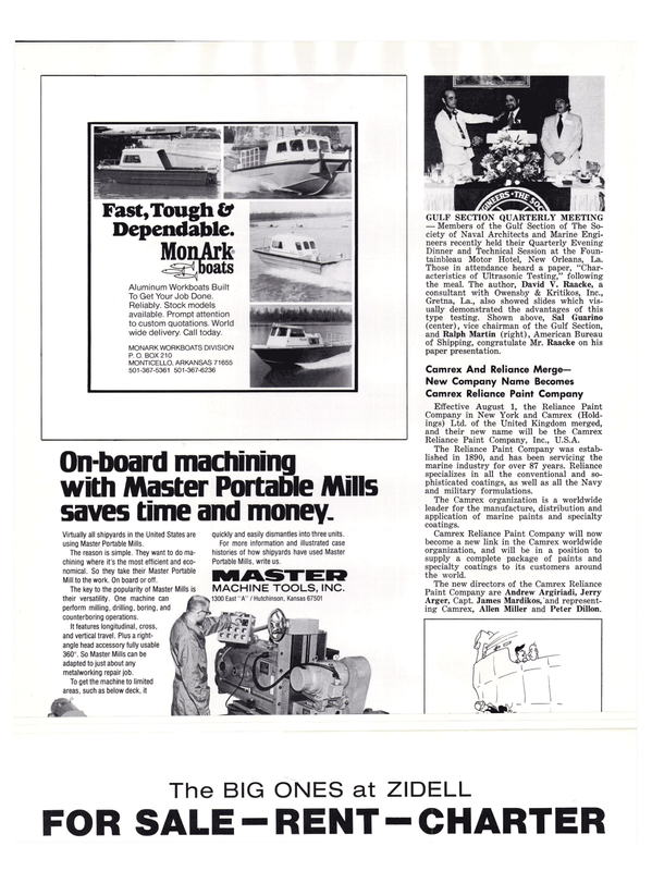 Maritime Reporter Magazine, page 46,  Sep 1977