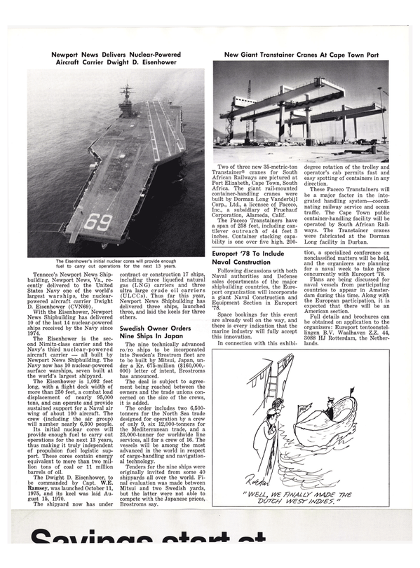 Maritime Reporter Magazine, page 8,  Oct 1977