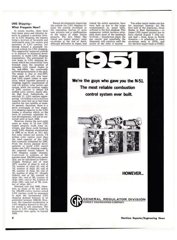 Maritime Reporter Magazine, page 10,  Oct 1977