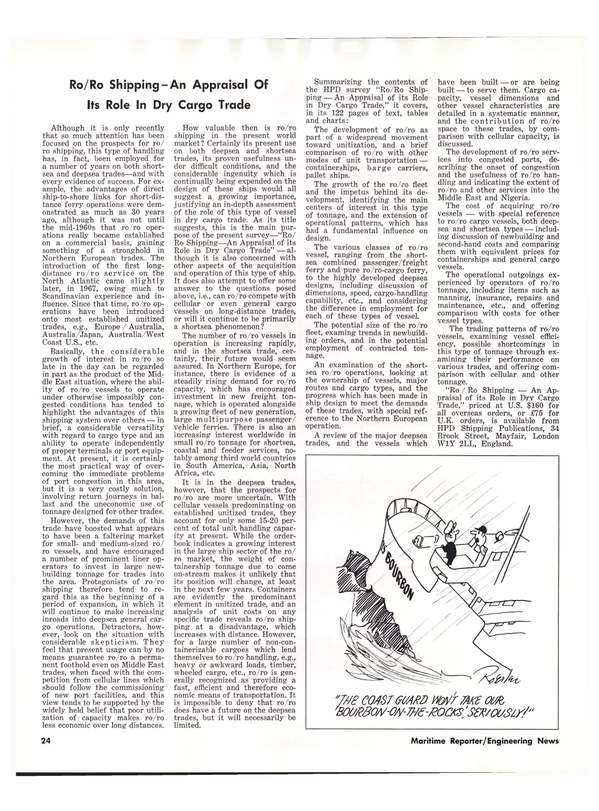 Maritime Reporter Magazine, page 22,  Oct 15, 1977