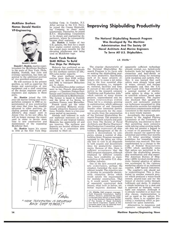 Maritime Reporter Magazine, page 14,  Nov 1977 Northern California