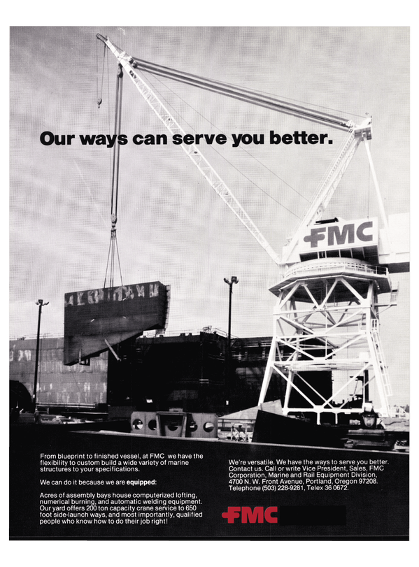 Maritime Reporter Magazine, page 39,  Nov 1977