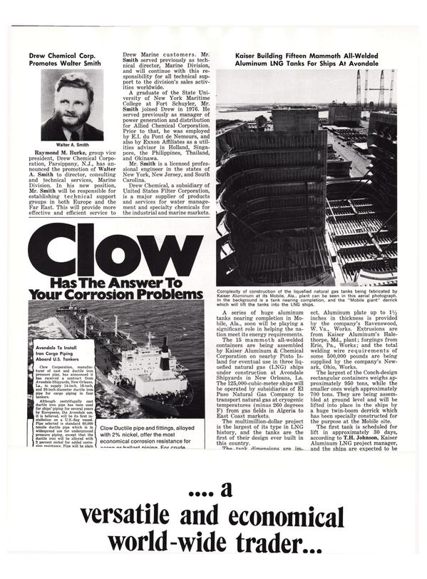 Maritime Reporter Magazine, page 44,  Nov 1977