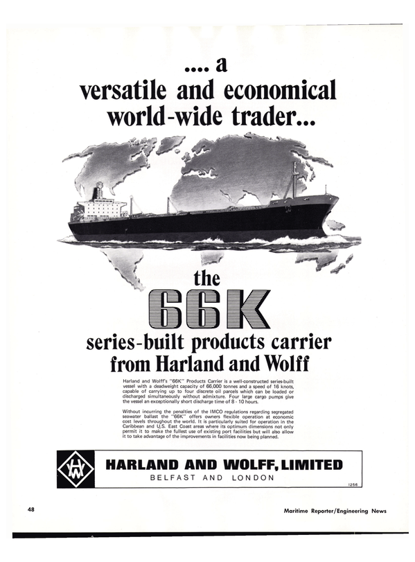 Maritime Reporter Magazine, page 48,  Nov 1977