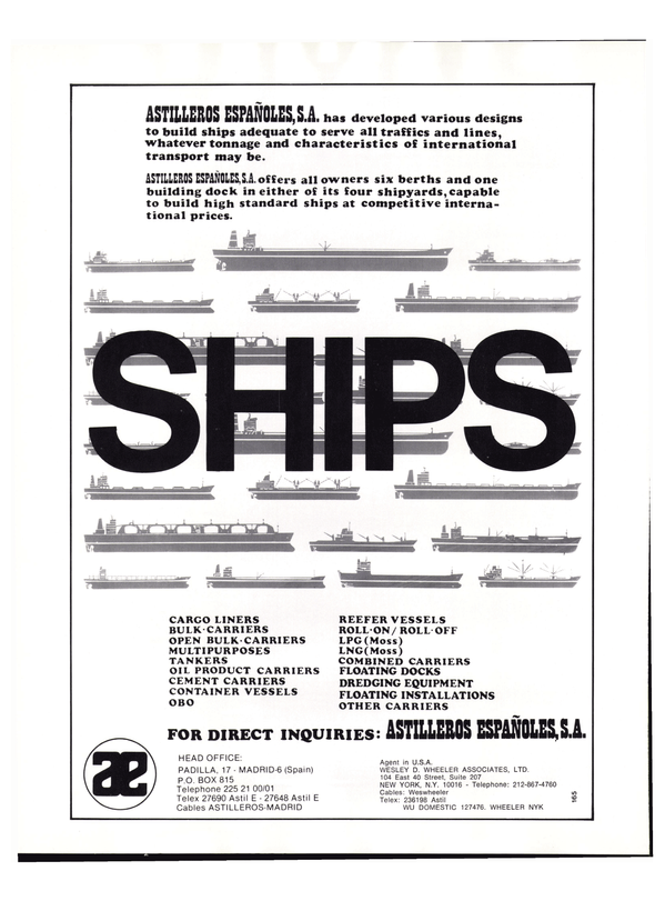 Maritime Reporter Magazine, page 54,  Nov 1977
