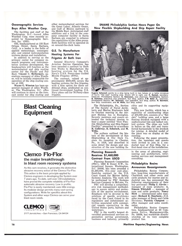 Maritime Reporter Magazine, page 14,  Dec 1977