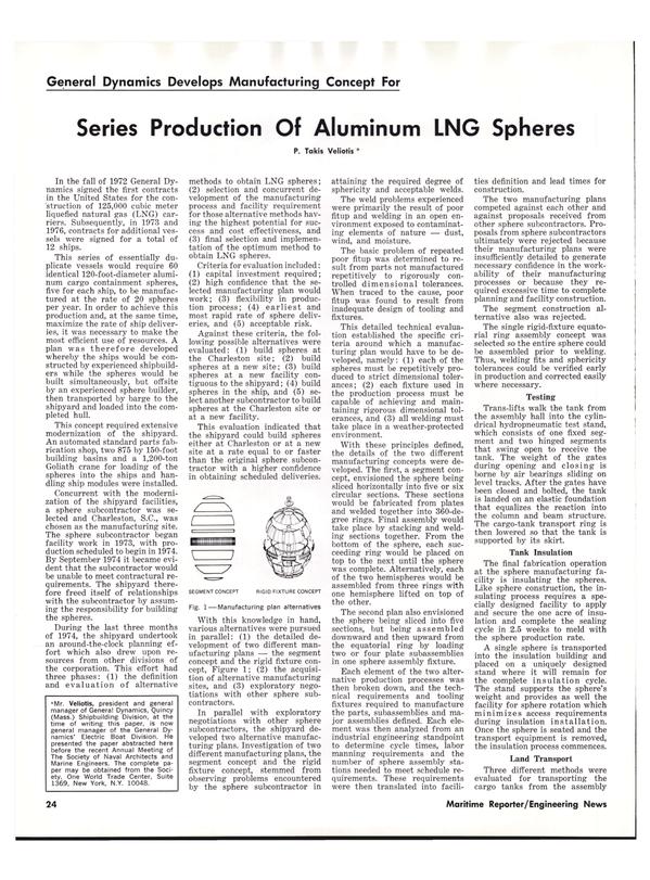 Maritime Reporter Magazine, page 22,  Dec 1977