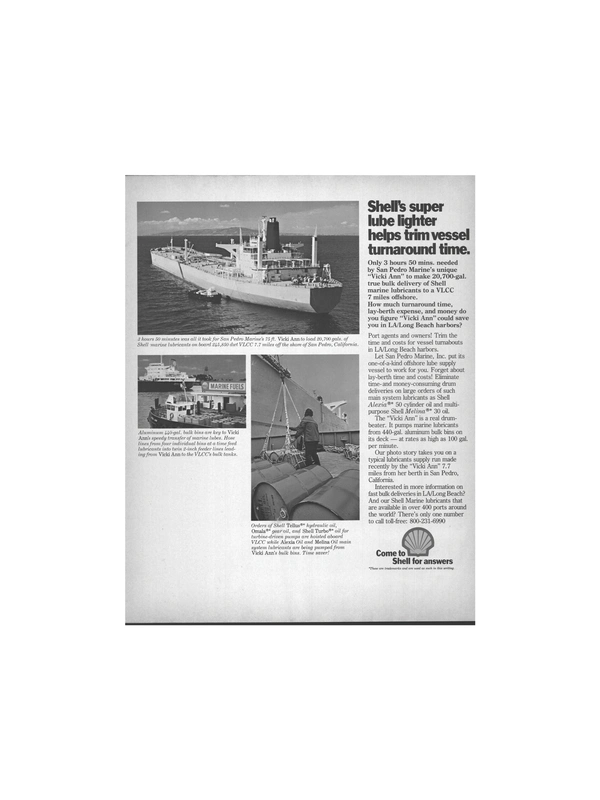 Maritime Reporter Magazine, page 23,  Mar 1978 hydraulic oil