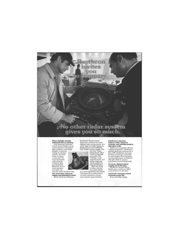 Maritime Reporter Magazine, page 8,  Jul 1978 Raytheon