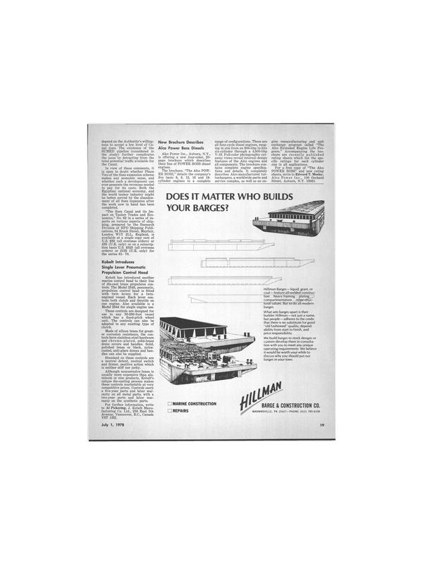Maritime Reporter Magazine, page 15,  Jul 1978 Suez