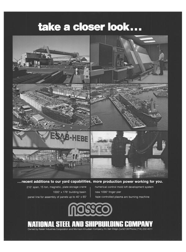 Maritime Reporter Magazine, page 20,  Jul 15, 1978 Kaiser Industries Corporation