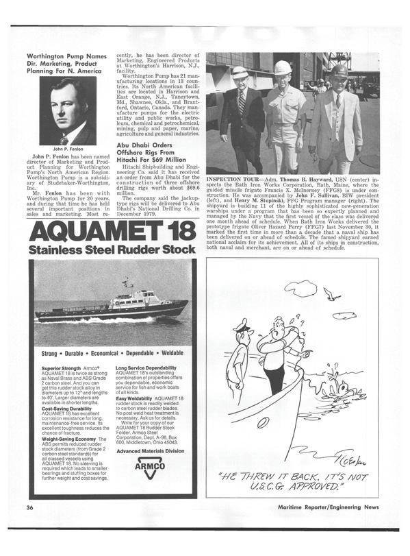 Maritime Reporter Magazine, page 34,  Jul 15, 1978 Maryland