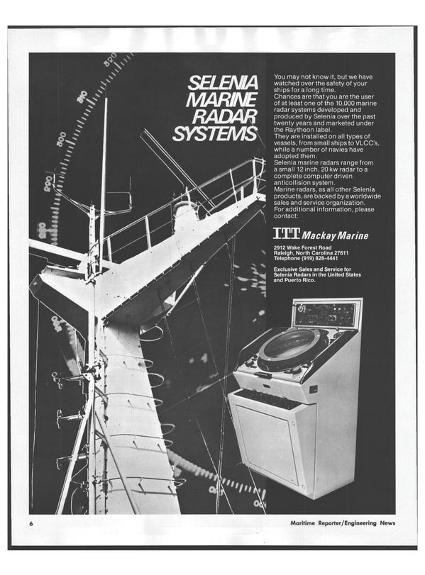 Maritime Reporter Magazine, page 4,  Jul 15, 1978