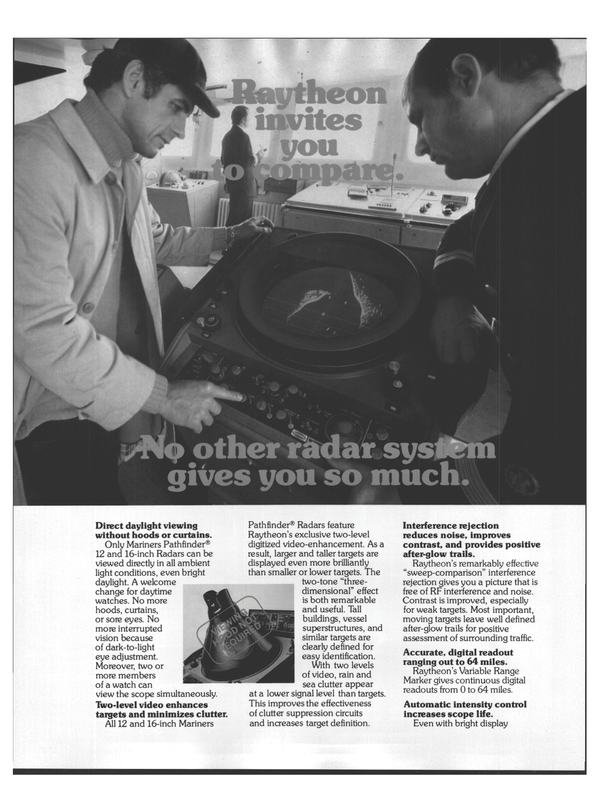 Maritime Reporter Magazine, page 18,  Aug 1978 Raytheon
