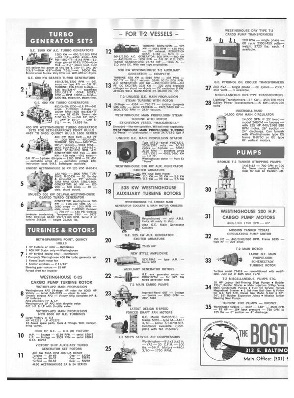 Maritime Reporter Magazine, page 28,  Aug 1978 AP2