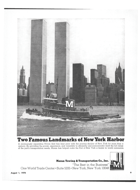 Maritime Reporter Magazine, page 7,  Aug 1978 Port of New York