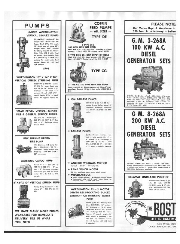 Maritime Reporter Magazine, page 24,  Aug 15, 1978 ANCHOR WINDLASS MOTORS