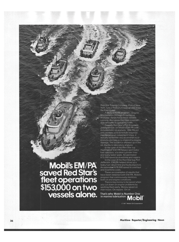 Maritime Reporter Magazine, page 32,  Aug 15, 1978 leaky water seals