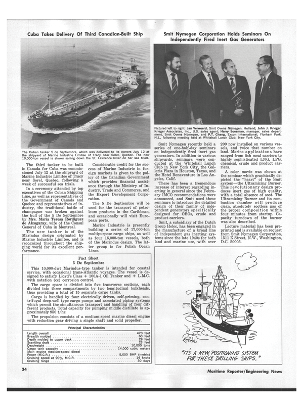 Maritime Reporter Magazine, page 32,  Sep 1978