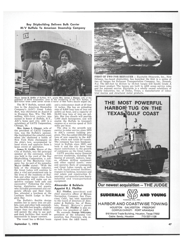Maritime Reporter Magazine, page 45,  Sep 1978