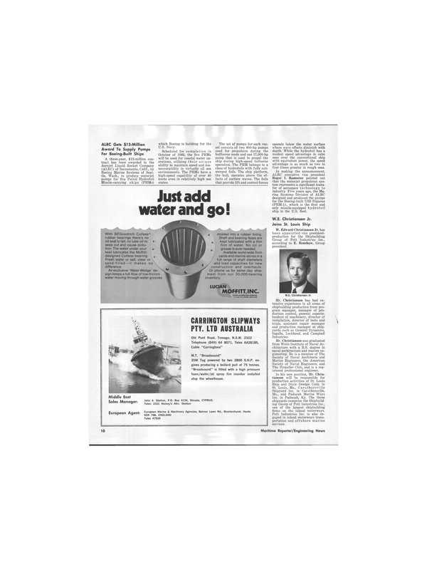 Maritime Reporter Magazine, page 8,  Sep 15, 1978