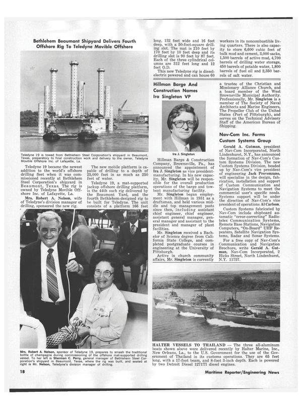 Maritime Reporter Magazine, page 20,  Nov 1978