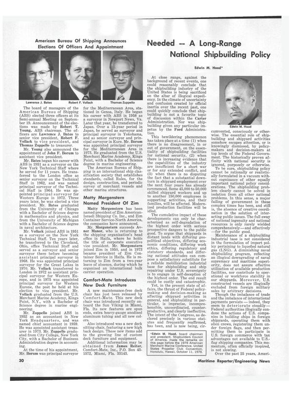 Maritime Reporter Magazine, page 34,  Nov 1978